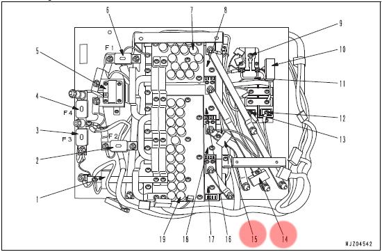 инструкция по ремонту комацу Wb97s - фото 8